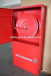 Stainless Steel Double Door Fire Hose Reel Cabinet Box