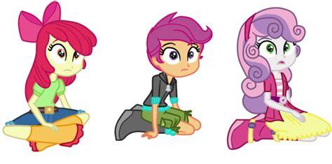 My Little Pony Apple Bloom Sweetie Belle Scootaloo