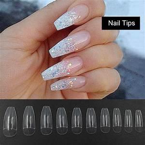 100/500Pcs Half... Fake Nails