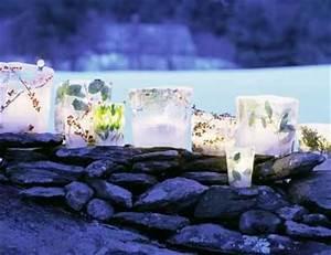 ice luminaries WOW Crafty Lady Pinterest