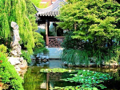traditional garden traditional chinese garden wallpaper 1024x768 32238