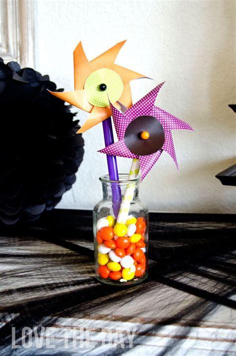 halloween pinwheel printable  love  day