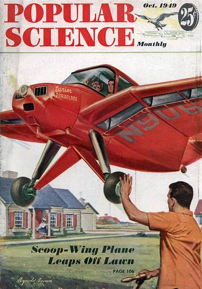 Science Popular 1949 Magazine Issue Modern 1950