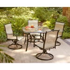 hton bay altamira tropical 5 piece patio dining set