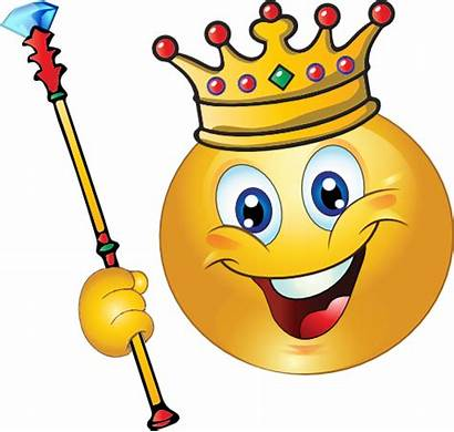 King Smiley Emoticon Clipart Domain تاج I2clipart