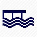 Pier Icon Coastline Water Icons Editor Open