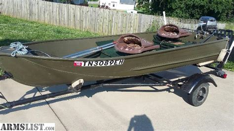 12 Foot Jon Boat Outboard by Armslist For Sale Trade 12 Ft Jon Boat With Mariner 9 9
