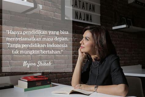 kata bijak tentang guru  pendidikan najwa shihab
