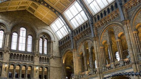 main hall  natural history museum london england uk