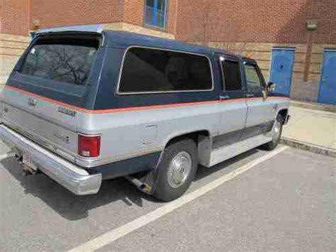Purchase Used 1984 Chevrolet C20 Suburban Silverado 6.2l