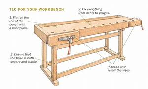 How to Rehab a Traditional Workbench - FineWoodworking