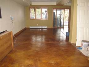 Stained Concrete Floor Colors Picture