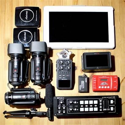 Camera Multi Portable Switcher Rig 1hd Roland