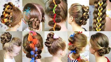10 cute 5 MINUTES hairstyles for busy morning Quick