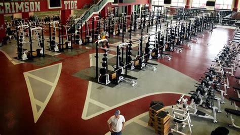 alabamas  weight room   insane sbnationcom