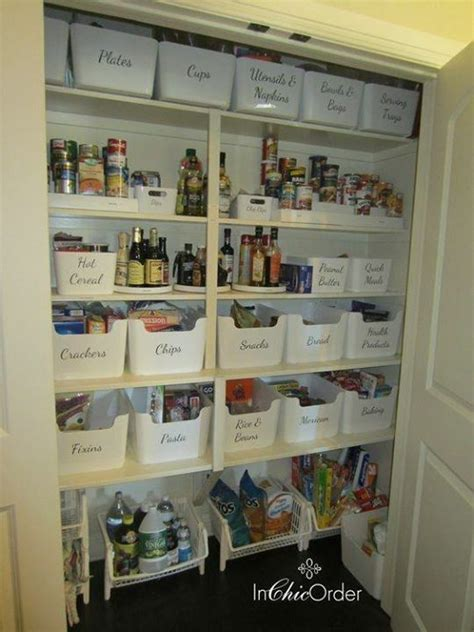 pantry organization  label categories  good ikea