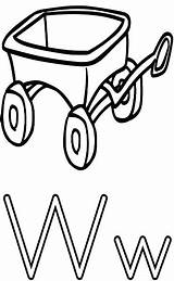Wagon Coloring Letter Alphabet Pages Printable Wheel Worksheets Print Education Wpclipart Features Getcolorings Sheets Well sketch template
