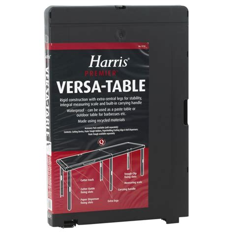 harris premier versa work table decorating supplies bm