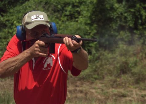 video jerry miculek rapid fires   carbines  slow motion outdoorhub