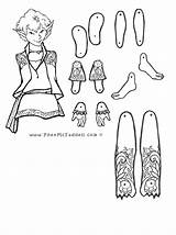 Coloring Pages Puppet Fnaf Paper Master Puppets Crafts Fairy Puck Dolls Adult Cut Outs Template Pheemcfaddell Fairies Printable Sheets Toys sketch template
