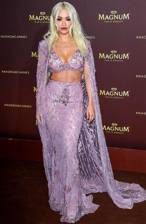 rita oras expensive jewelry meant  cannes left