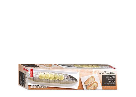 cuisiner saumon entier saumon entier farci cuit et prétranché surgelé gamme