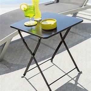 Table Pliante D Appoint : petit mobilier de jardin meuble d 39 appoint banc coffre ~ Melissatoandfro.com Idées de Décoration
