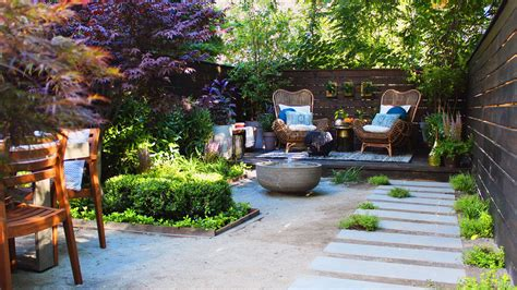 before and after a zen garden and a seasonal restaurant backyard envy photos