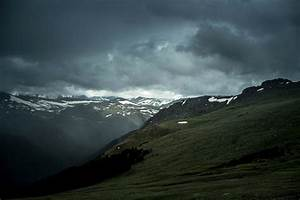 Storm, Clouds, Landscape, And, Mountains, In, Grand, Lake, Colorado, Image, -, Free, Stock, Photo