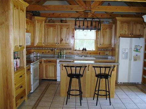 kitchens and cabinets 94 best hickory cabinets images on hickory 3540