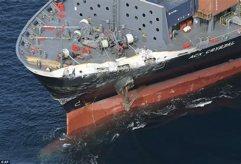 Ship Collision by Uss Fitzgerald Involved In Collision With Merchant Vessel