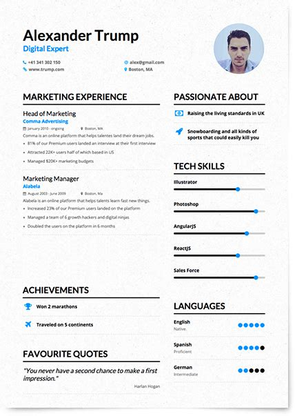 Create And Save Resume Free by Enhancv Helps You Create Compelling Human Centric Resumes