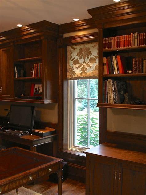 custom  classic american cherry home office study