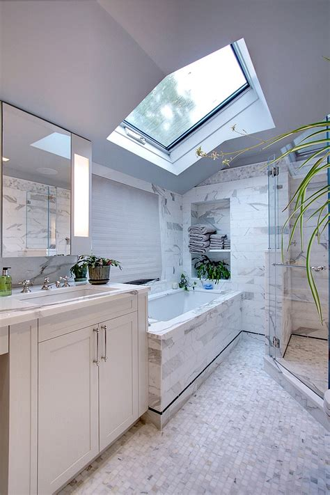 modern looking bathrooms 23 gorgeous bathrooms that unleash the radiance of skylights
