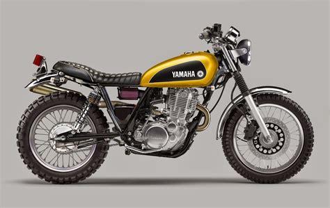 Yamaha Sr400 Scrambler Project By Luca Bar