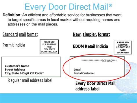 Usps Every Door Direct Mail Template - Costumepartyrun