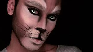 Lion Makeup For Men