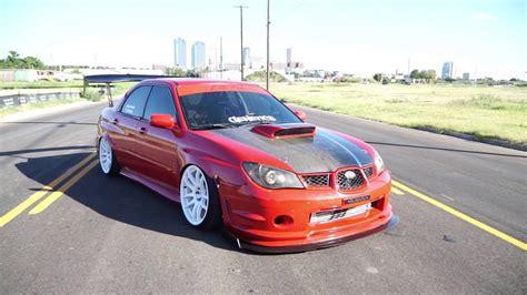Slammed 2006 Subaru Wrx Sti