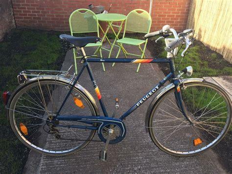 Vintage Peugeot Bikes by Peugeot Vintage Bike Carbolite In Stapleton Bristol