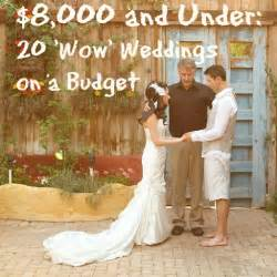 small wedding ideas on a budget