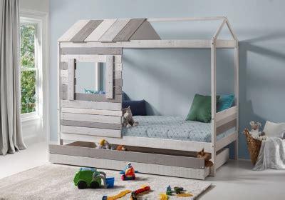 reprise ancien canape lit cabane sia gris et noir lits but