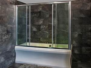 Duschtrennwand Badewanne Glas : duschabtrennung glas auf badewanne das beste aus ~ Michelbontemps.com Haus und Dekorationen