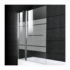 Pare Baignoire 60 Cm : pare baignoire s rigraphie 105 cm valencia salle de bain ~ Dailycaller-alerts.com Idées de Décoration