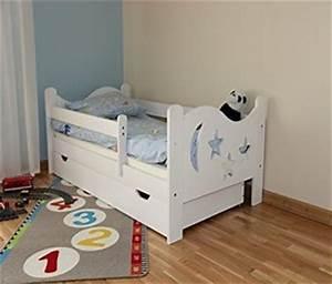 Kinderbett 70x140 Mit Rausfallschutz : wei es kinderbett 70x140 angebot neu ~ Bigdaddyawards.com Haus und Dekorationen