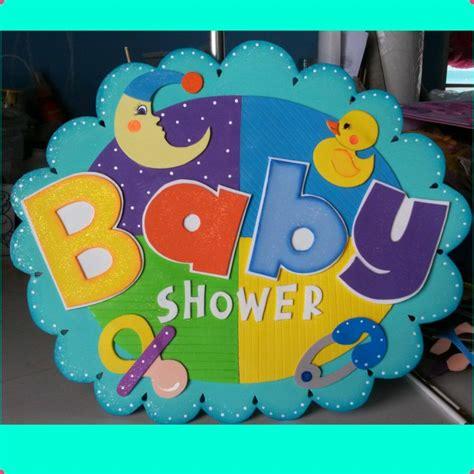 carteles de baby shower letreros bienvenidos 35 o 40 cm
