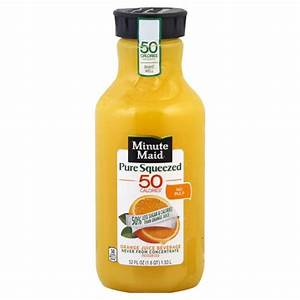 Minute Maid Orange Juice Beverage, No Pulp : Publix.com