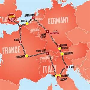 Europe Highlights - 10 Days, Western Europe, BE,FR,DE,IT,NL,CH