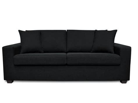 canapé tissu noir achat en ligne