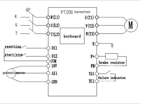 Mitsubishi Vfd Wiring Diagram by Powtech Vfd In Application Of Water Supply Equipment