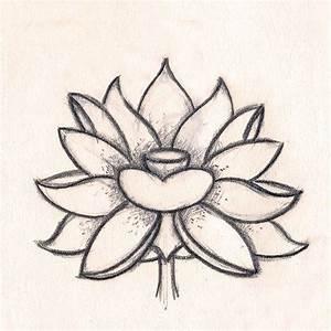 Dessin Fleurs De Lotus : dessin fleur de lotus dx66 jornalagora ~ Dode.kayakingforconservation.com Idées de Décoration